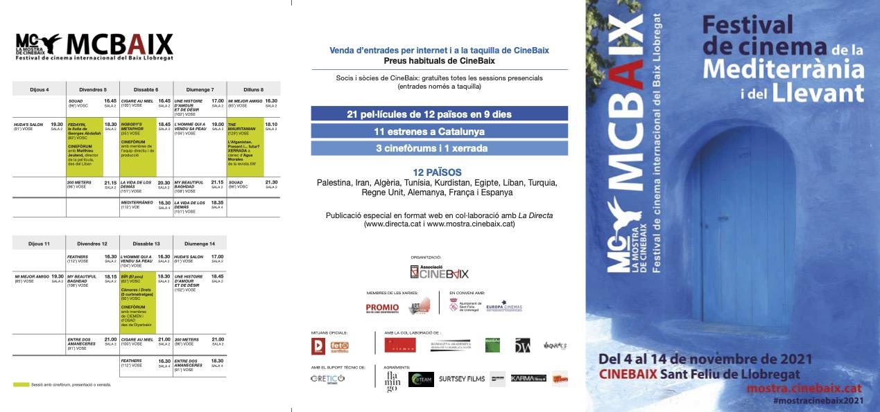 Programa de mà CineBaix