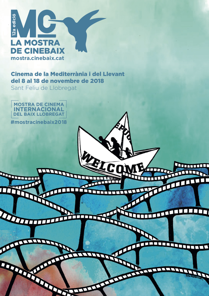 Cartell Cinema de la Mediterrània i el Llevant 2018