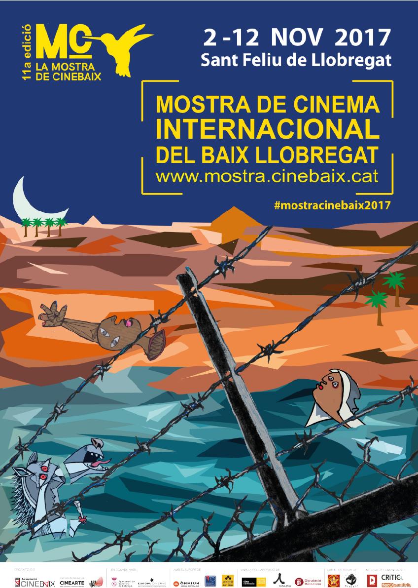 Cartell La Mostra de CineBaix: Mostra de Cinema Internacional a Sant Feliu de Llobregat 2017