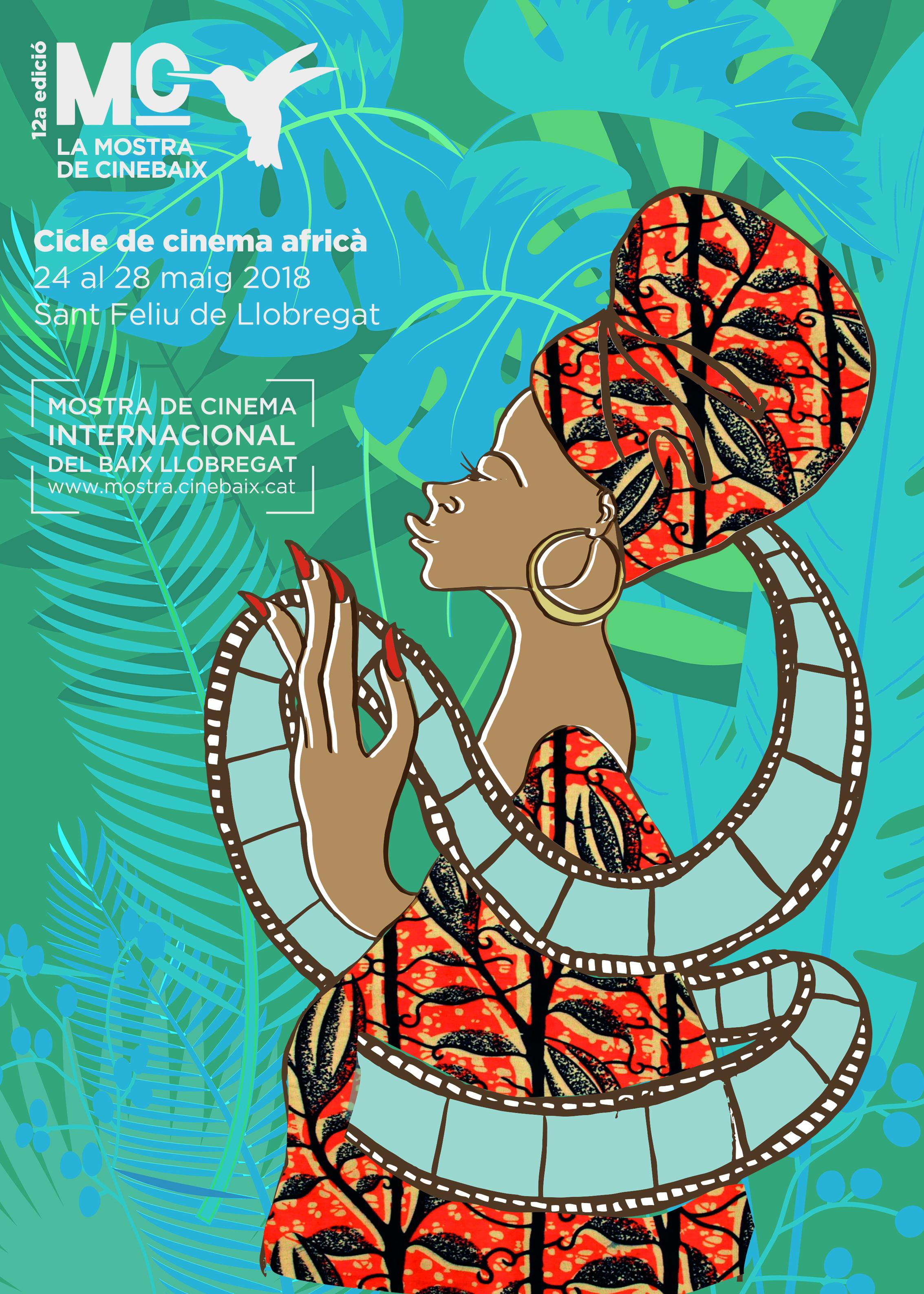 Cartell Cinema africà 2018