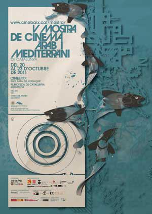 Cartell V Mostra de Cinema Àrab i Mediterrani de Catalunya 2011