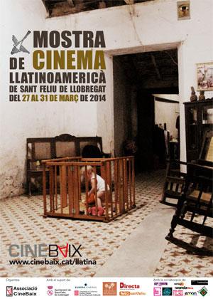 Cartell Mostra de Cinema Llatinoamericà de Sant Feliu de Llobregat 2014