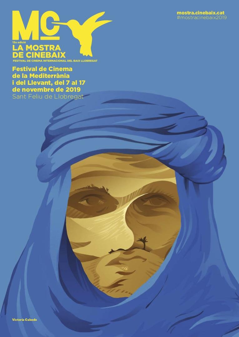 Cartell Cinema de la Mediterrània i el Llevant 2019